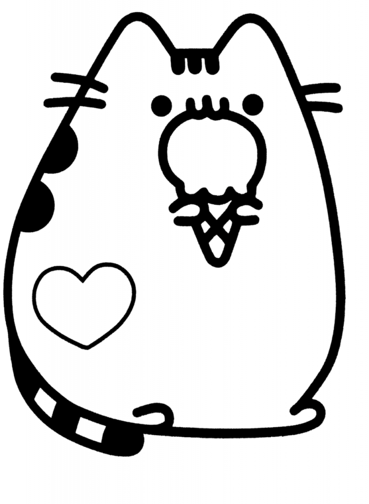cute coloring pages to print cute coloring pages pusheen cute coloring pages print to