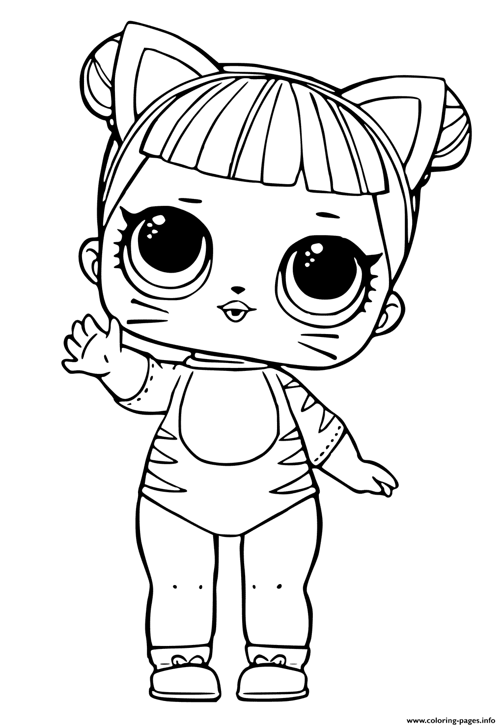 cute coloring pages to print print lol doll tiger cat cute coloring pages cat print to pages coloring cute