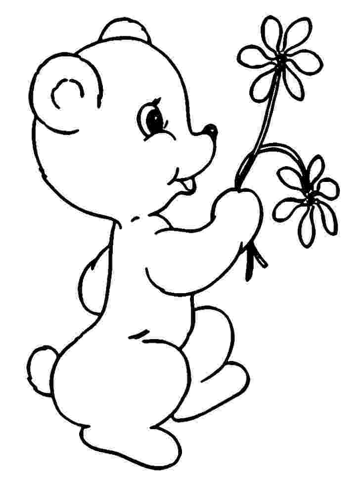 cute flower coloring pages spring flower coloring pages getcoloringpagescom pages flower cute coloring