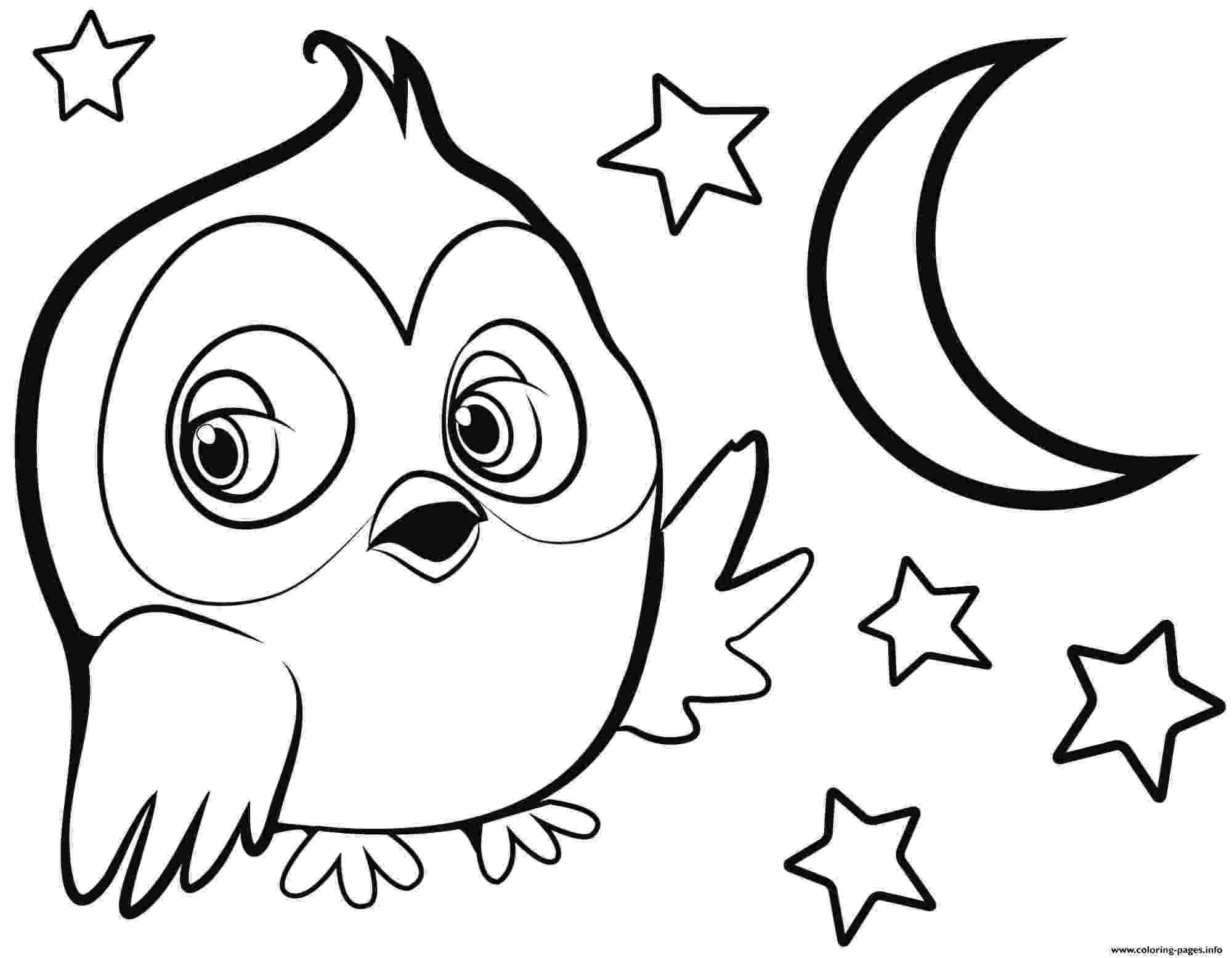 cute owl printable coloring pages baby owl coloring pages getcoloringpagescom coloring printable owl cute pages