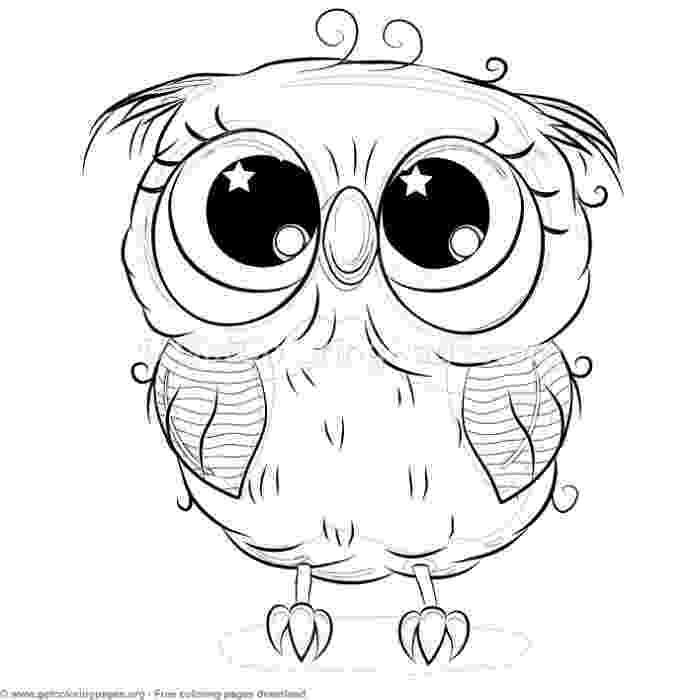 cute owl printable coloring pages coloring pages for girls owls at getcoloringscom free printable cute coloring owl pages