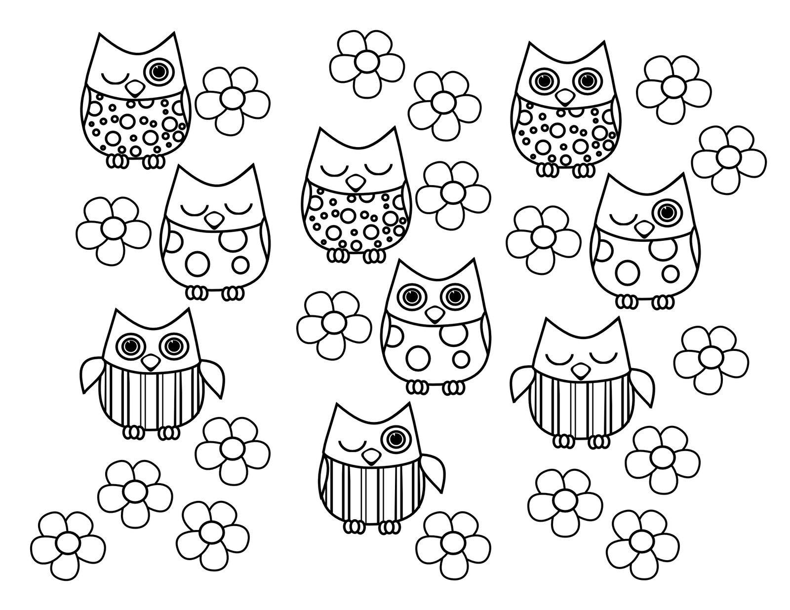 cute owl printable coloring pages cute owl coloring pages coloring home cute coloring pages owl printable