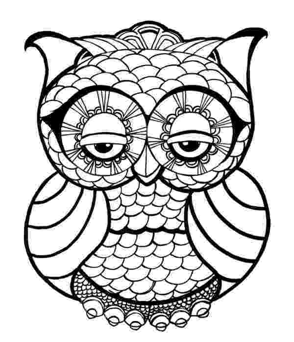 cute owl printable coloring pages cutest cartoon owl coloring page free printable coloring owl printable pages coloring cute
