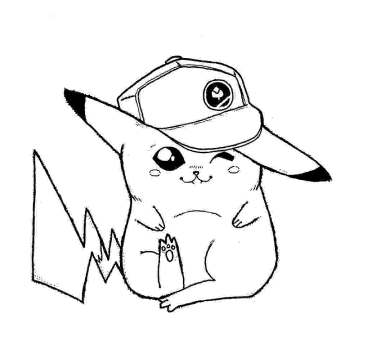 cute pikachu coloring pages cute pikachu coloring pages at getcoloringscom free pikachu pages cute coloring