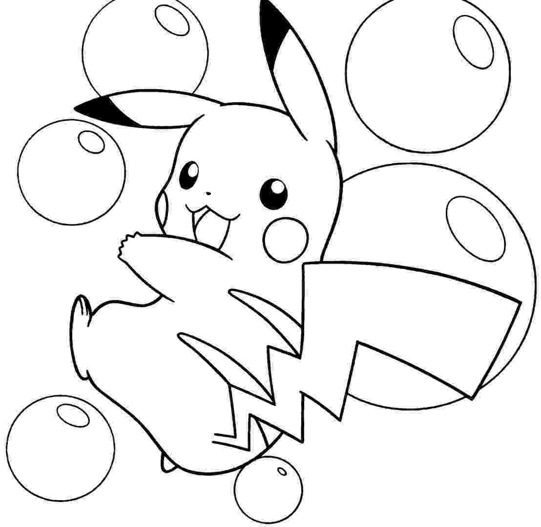 cute pikachu coloring pages fun coloring pages pokemon and pikachu coloring pages cute coloring pikachu pages