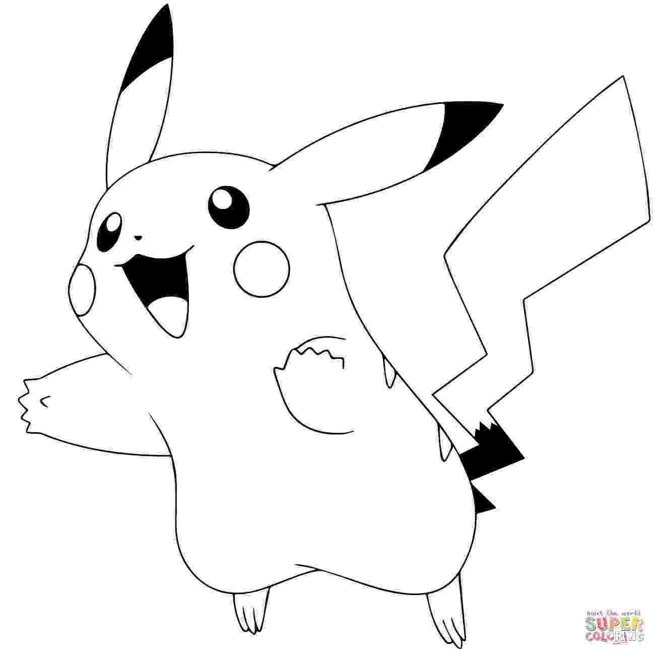 cute pikachu coloring pages pikachu pokemon coloring pages getcoloringpagescom cute pages coloring pikachu