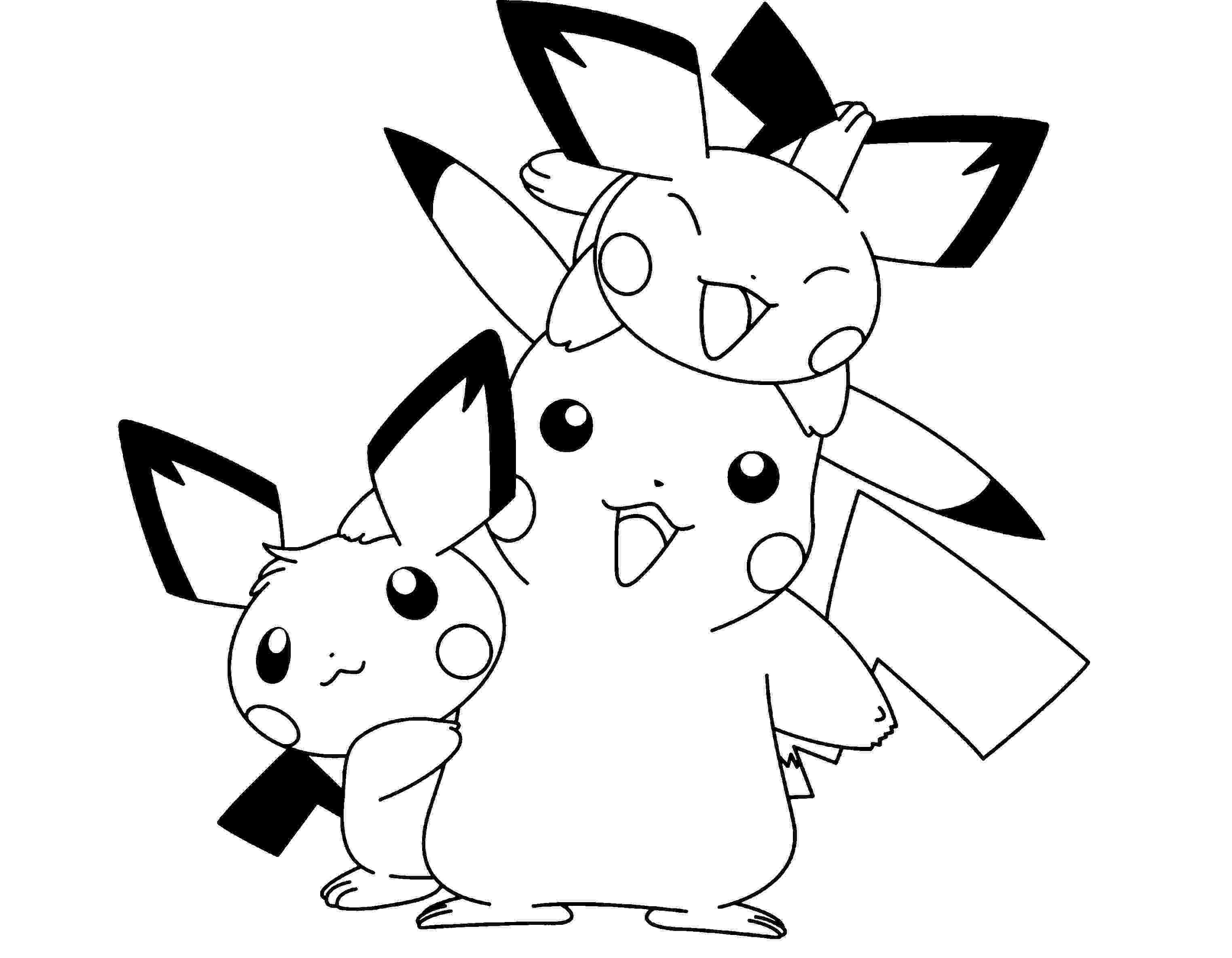 cute pikachu coloring pages pokemon coloring pages free download coloring pikachu pages cute