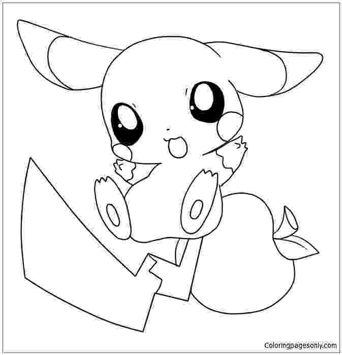 cute pikachu coloring pages pokemon cute coloring pages pikachu cute coloring pages