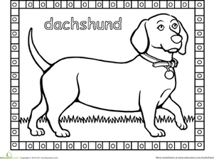 dachshund coloring pages 16 best dachshund coloring pages images on pinterest pages coloring dachshund