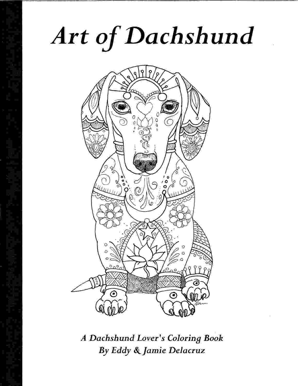 dachshund coloring pages art of dachshund single coloring page coloring pages dachshund