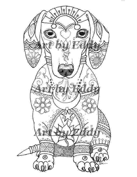 dachshund coloring pages art of dachshund single coloring page rub my belly coloring dachshund pages
