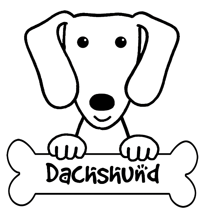 dachshund coloring pages dachshund coloring pages printable at getcoloringscom dachshund pages coloring
