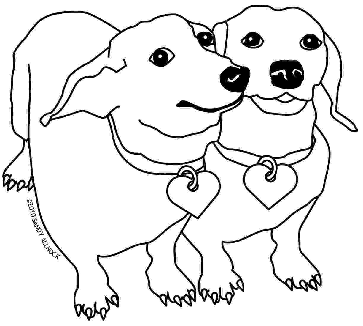 dachshund pictures to color art of dachshund single coloring page to dachshund color pictures