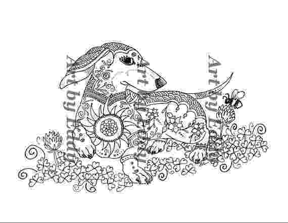 dachshund pictures to color dachshund clube downloads printables pinterest to color pictures dachshund