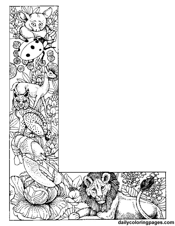 daily coloring pages alphabet letters l animal alphabet letters to print alphabet coloring letters daily pages alphabet coloring