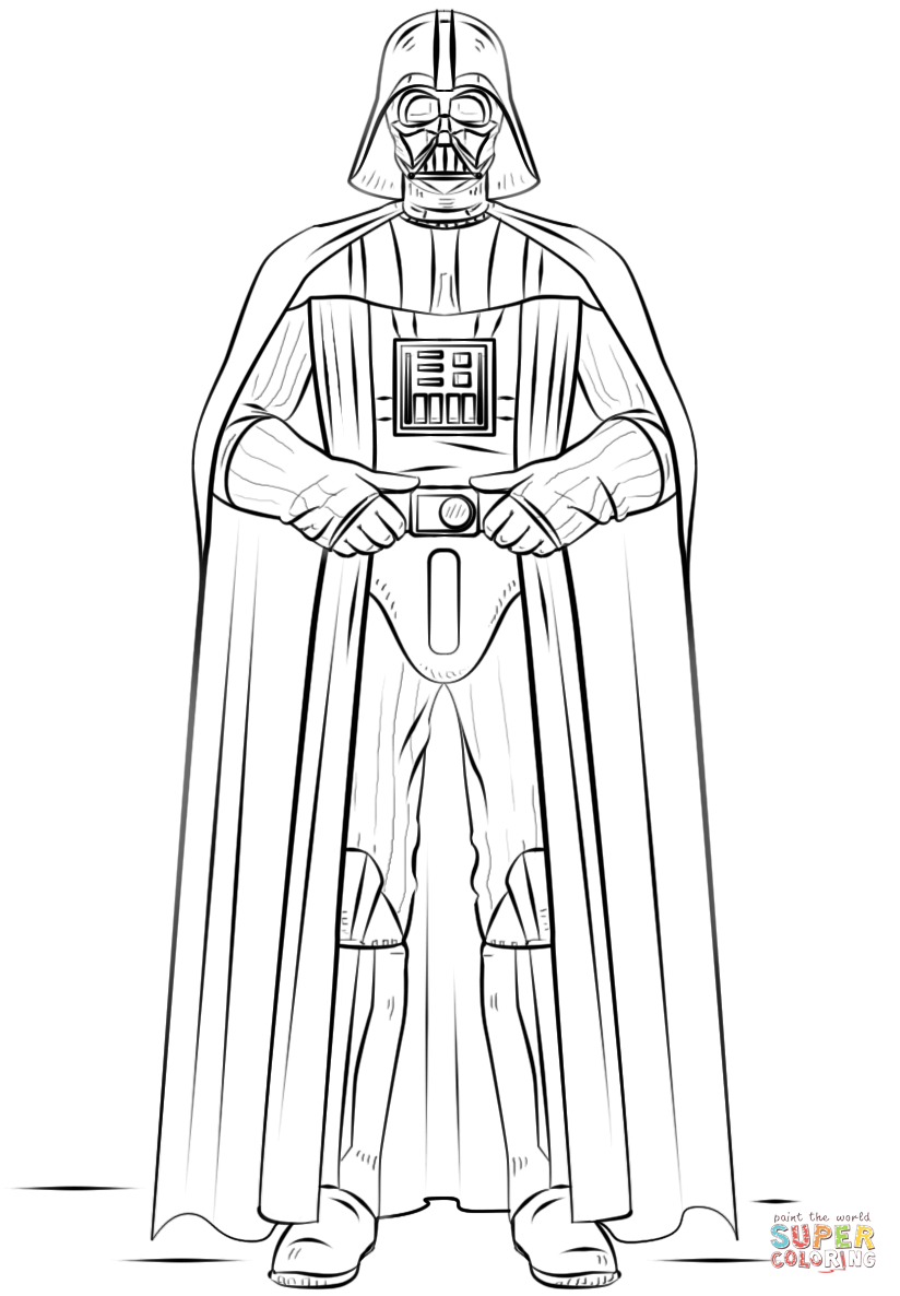 darth vader pictures to color darth vader coloring pages best coloring pages for kids color vader to pictures darth
