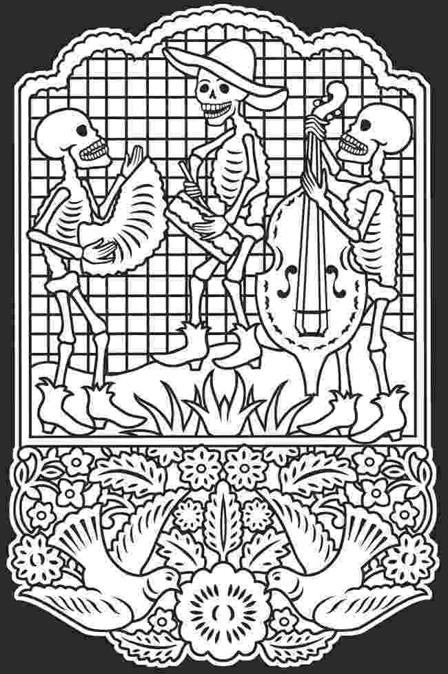 day of dead coloring pages coloring pages cindy39s notebook dead pages day of coloring
