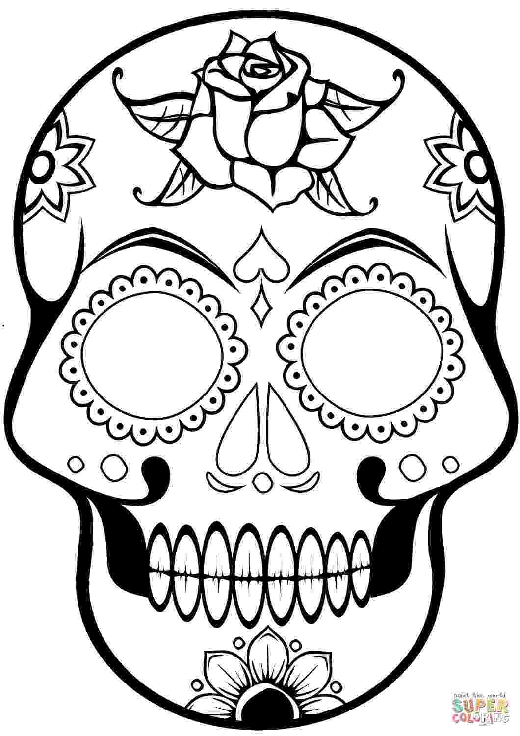 day of the dead printable pictures day of the dead lesson plan with printables modern art 4 the dead of printable day pictures