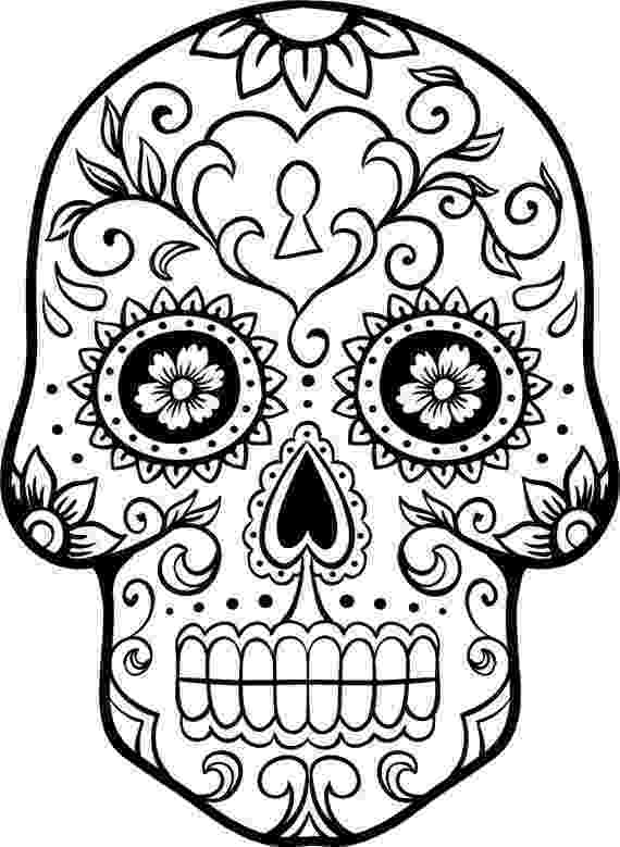 day of the dead printable pictures dia de los muertos skulls coloring pages at getcolorings day pictures the dead of printable