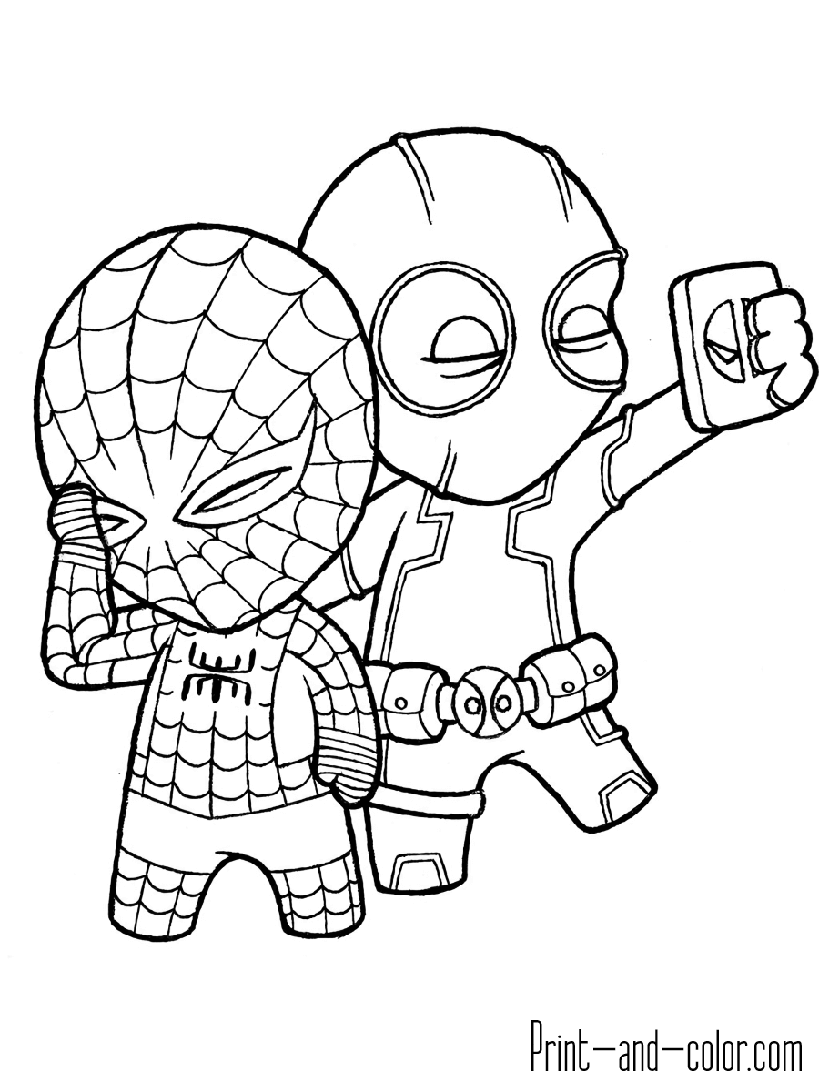 deadpool to color deadpool coloring pages print and colorcom deadpool color to