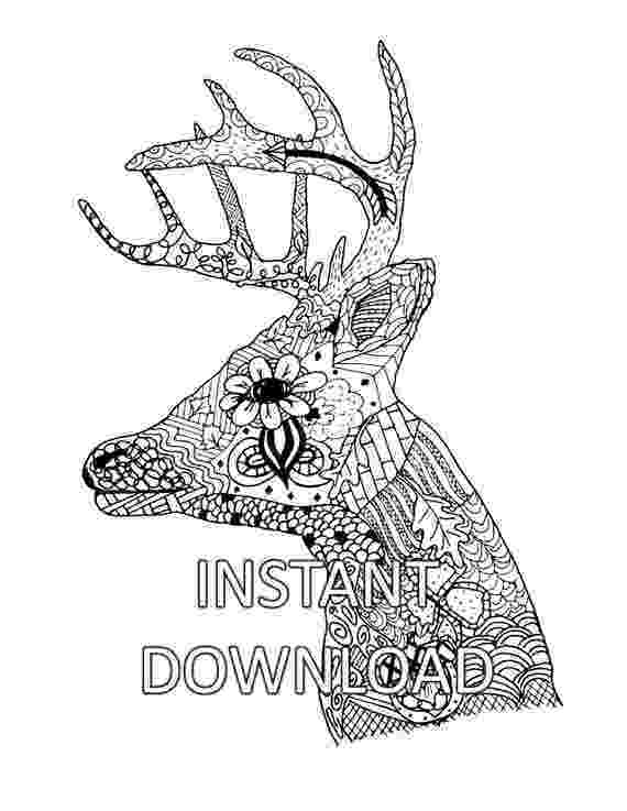 deer head coloring pages deer head coloring pages coloring pages deer pages head coloring