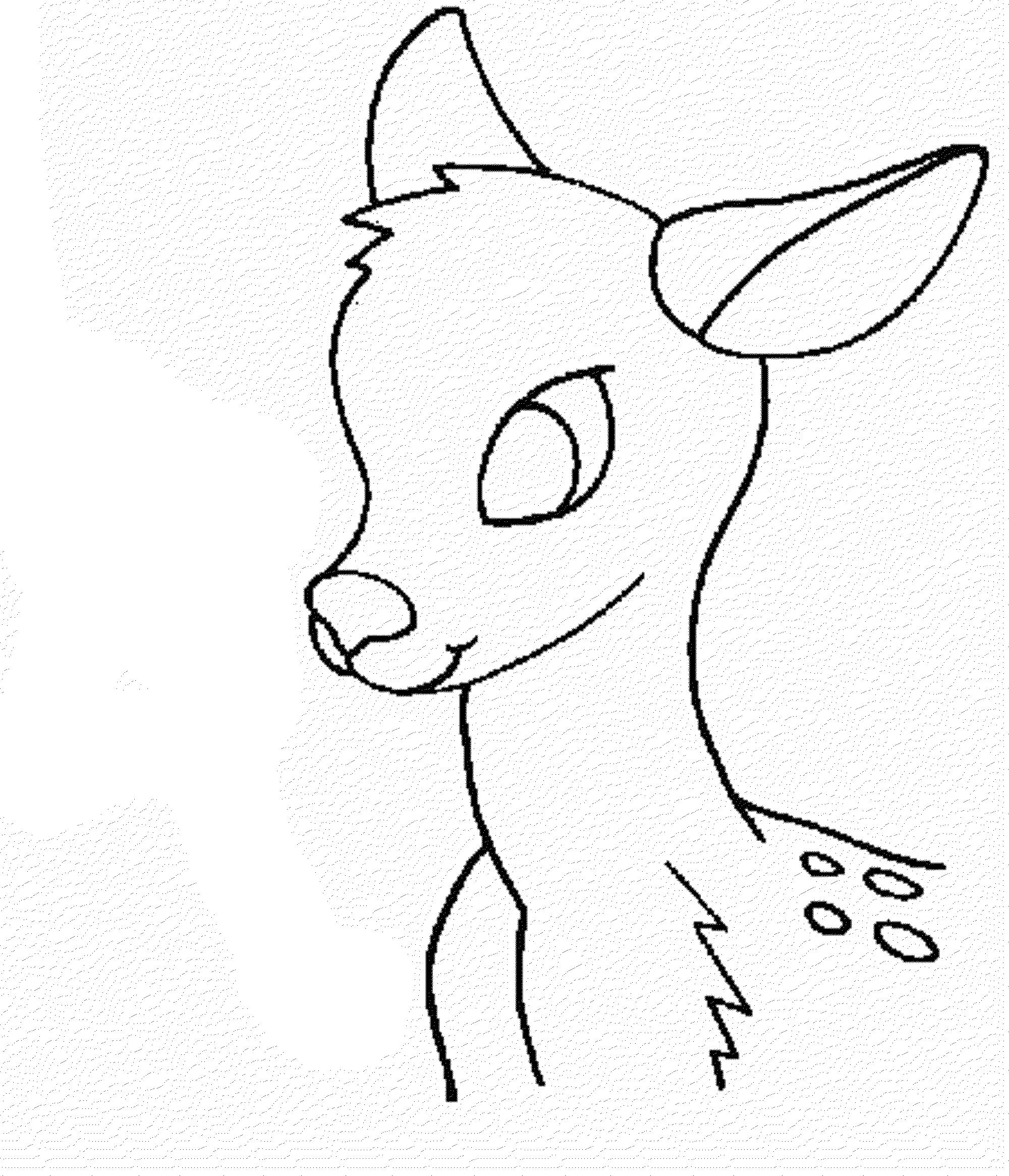 deer head coloring pages print download deer coloring pages for totally pages coloring head deer