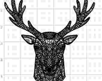 deer zentangle deer zentangle etsy deer zentangle