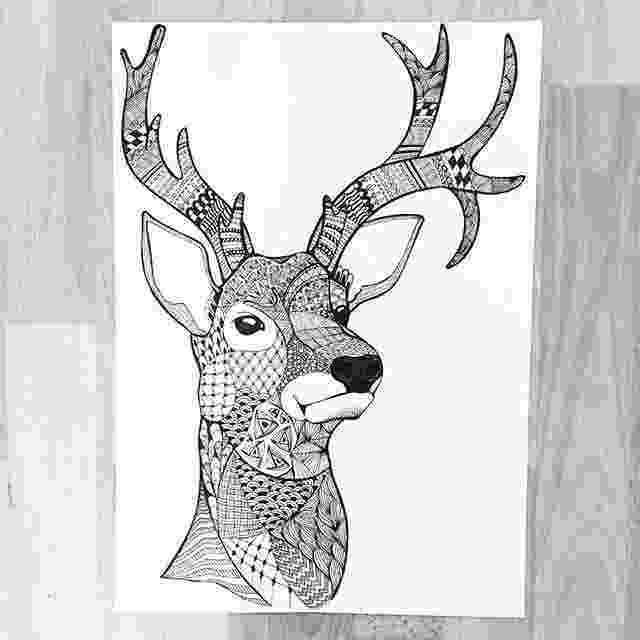 deer zentangle new doodle on sophias monster doodle zentangle deer deer zentangle