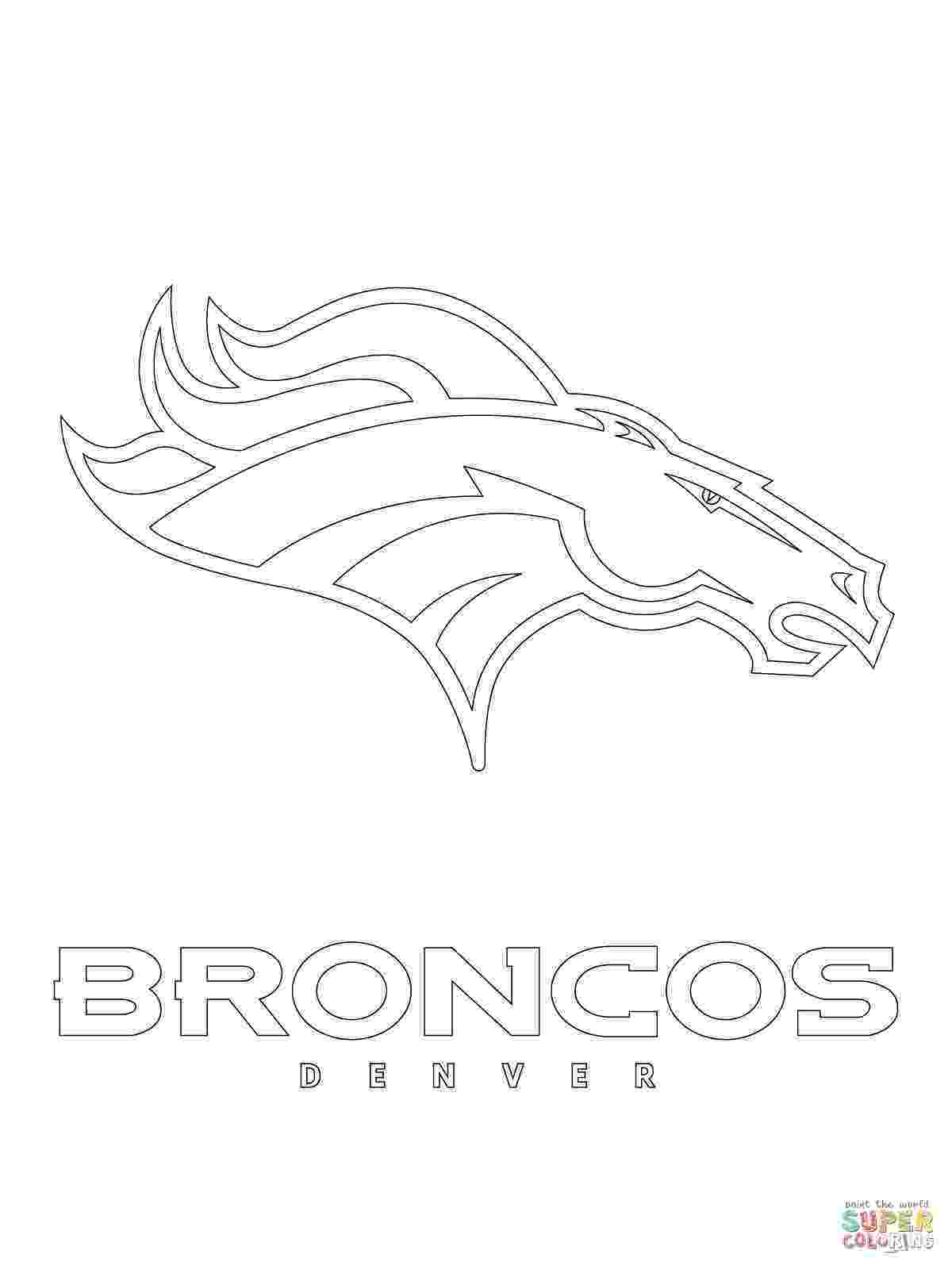 denver broncos coloring pages nfl logos coloring pages coloring pages to download and broncos denver pages coloring