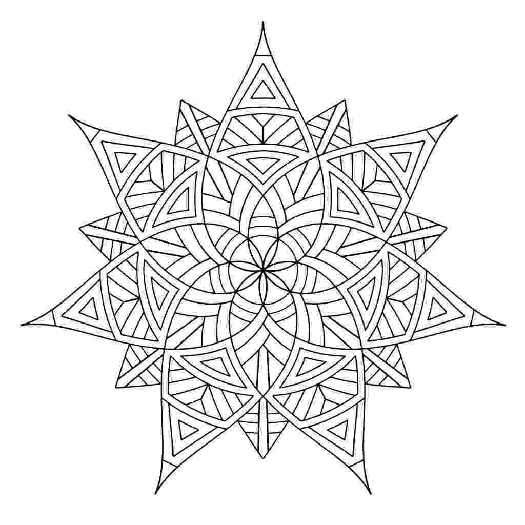 design color pages geometric design coloring pages to download and print for free pages design color