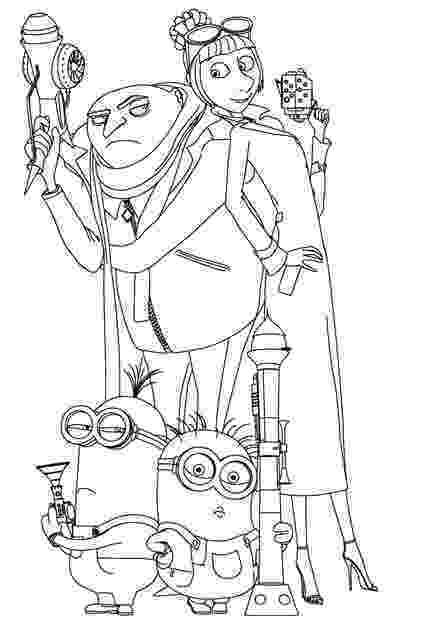 despicable me coloring pages free cartoon coloring pages momjunction pages free coloring me despicable
