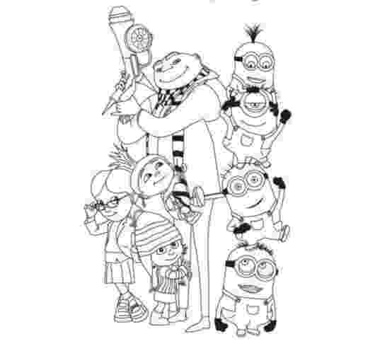 despicable me coloring pages free free printable despicable me coloring pages for kids me despicable coloring free pages 1 1
