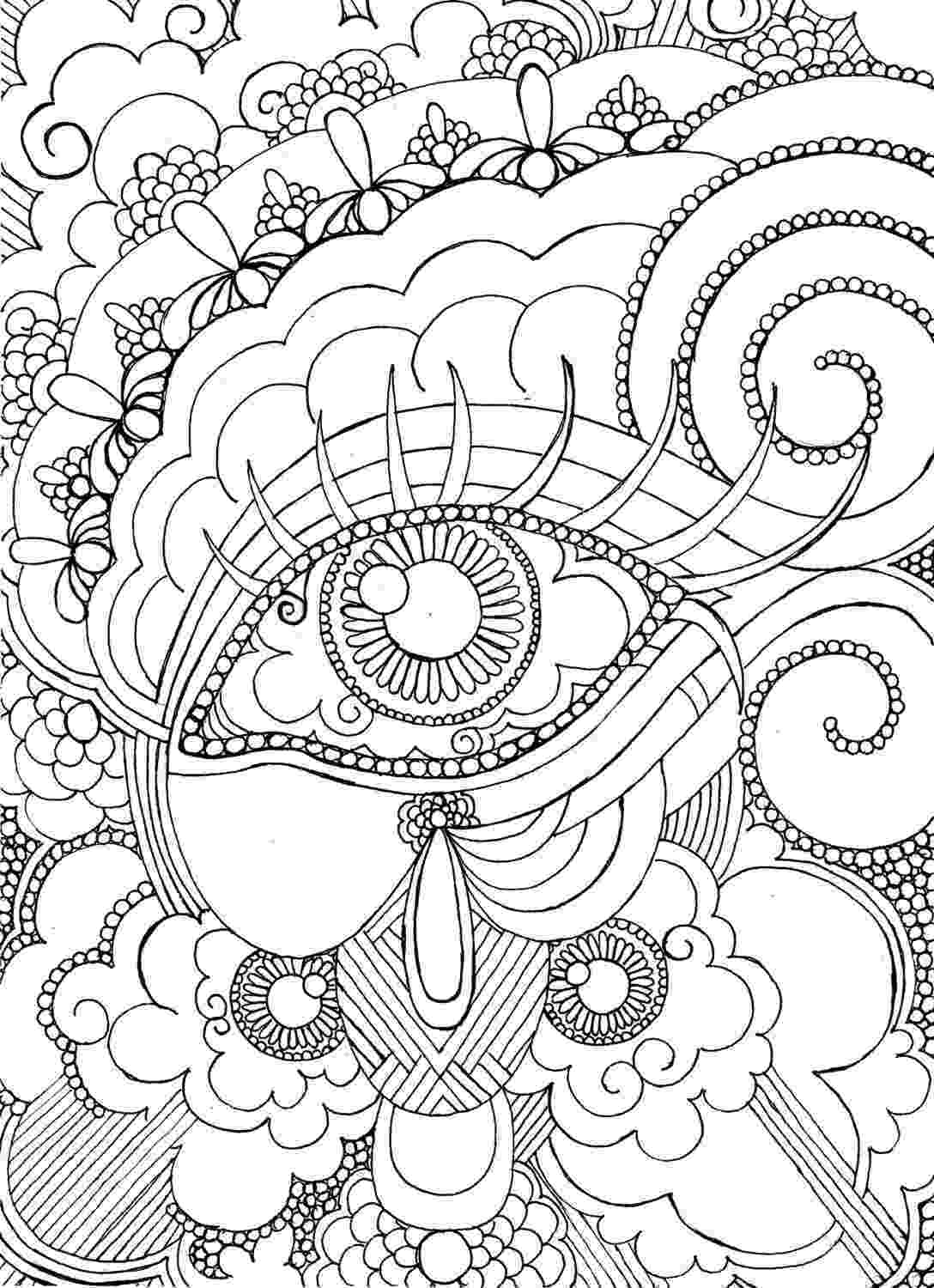 detailed color pages detailed coloring pages for adults free printable color detailed pages 1 1