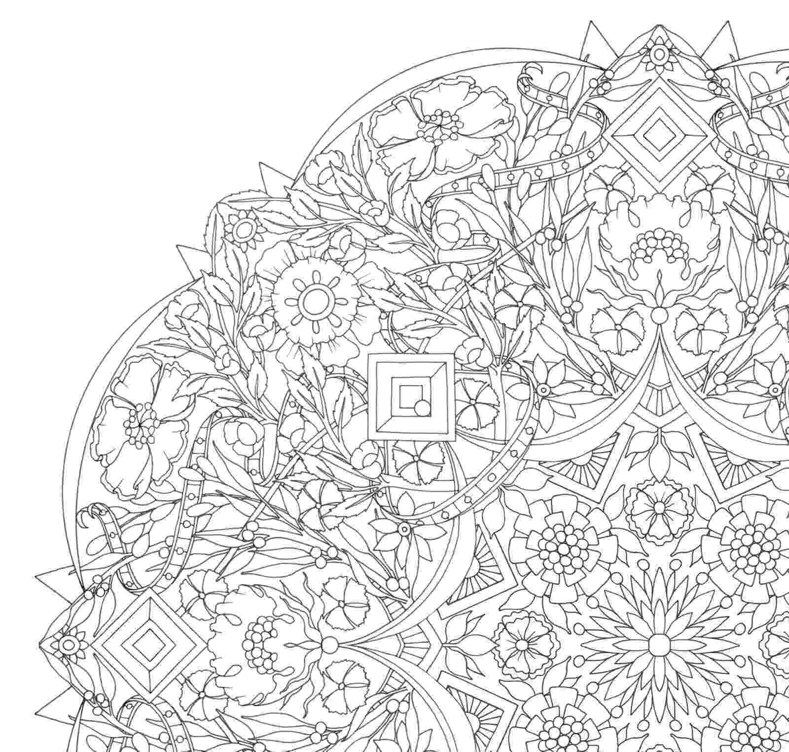 detailed color pages free printable abstract coloring pages for adults color pages detailed