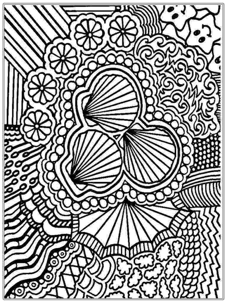 detailed color pages pattern animal coloring pages download and print for free color pages detailed