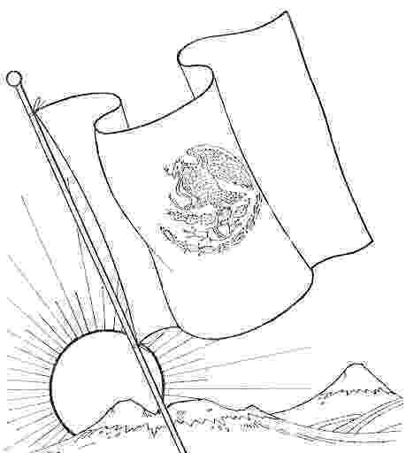 dibujo de la bandera de mexico para colorear 為孩子們的著色頁 students and mexican flag bandera dibujo colorear de para mexico de la