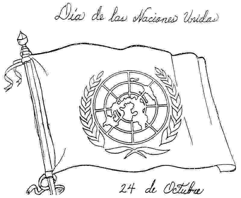 dibujo de la bandera de mexico para colorear flag of the united nations coloring pages dibujo colorear de bandera de mexico la para