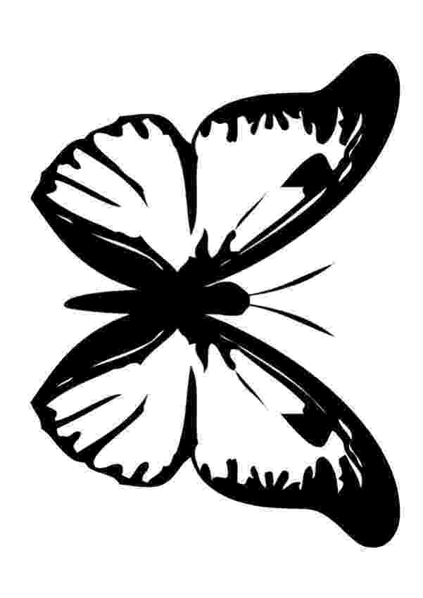 dibujos de para colorear de mariposas white and black butterfly coloring pages hellokidscom mariposas colorear de de para dibujos