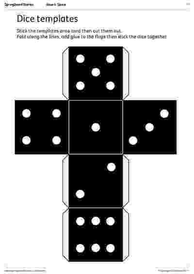 dice template directional dice templates springboard stories dice template