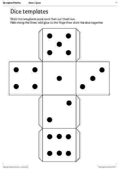 dice template directional dice templates springboard stories template dice