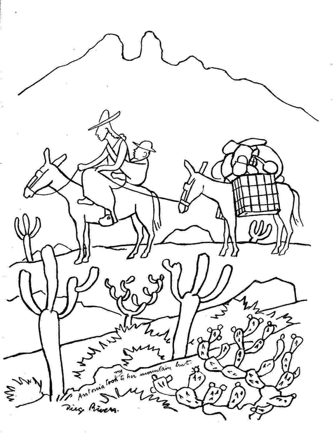 diego rivera coloring pages diego rivera sheets coloring pages coloring diego rivera pages