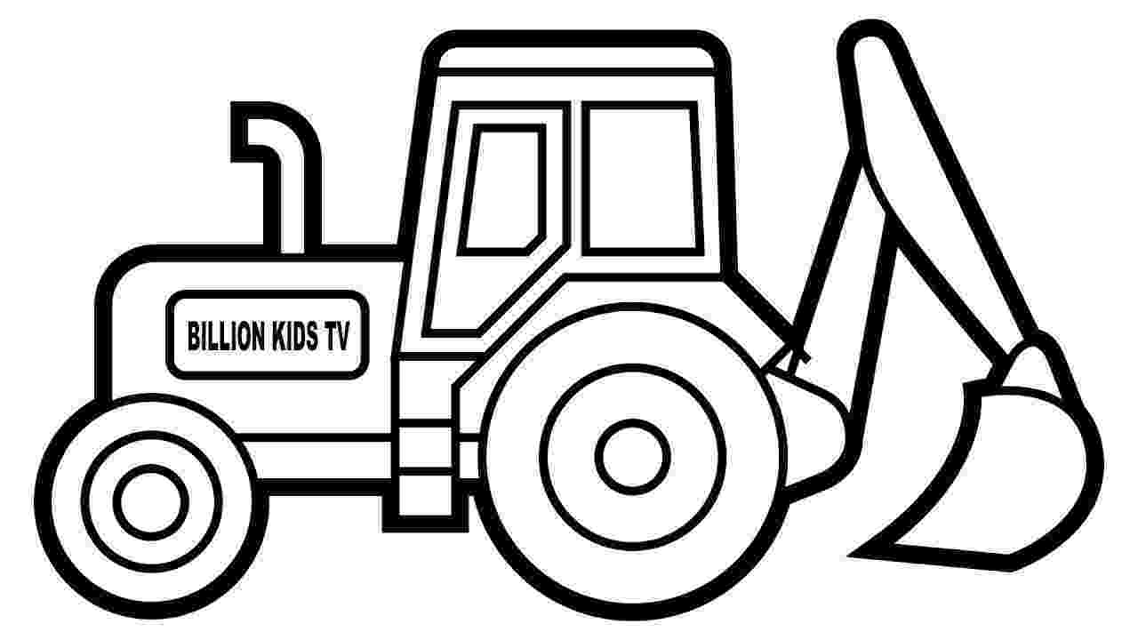digger coloring pages awesome drawing of a digger coloring page color luna coloring pages digger