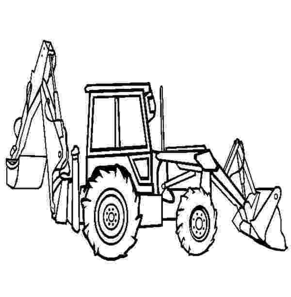 digger coloring pages digger drawing at getdrawingscom free for personal use coloring digger pages
