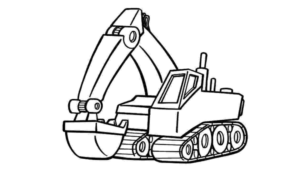 digger coloring pages digger sketch at paintingvalleycom explore collection pages digger coloring