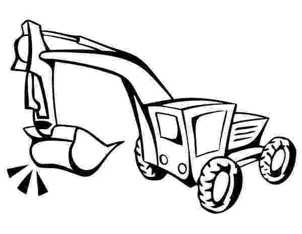 digger coloring pages digger tractor is digging coloring page tractor coloring digger pages coloring