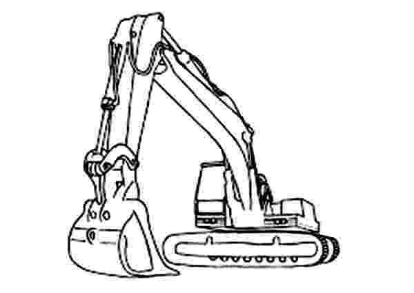 digger coloring pages important digger colouring pages how to draw excavator pages coloring digger