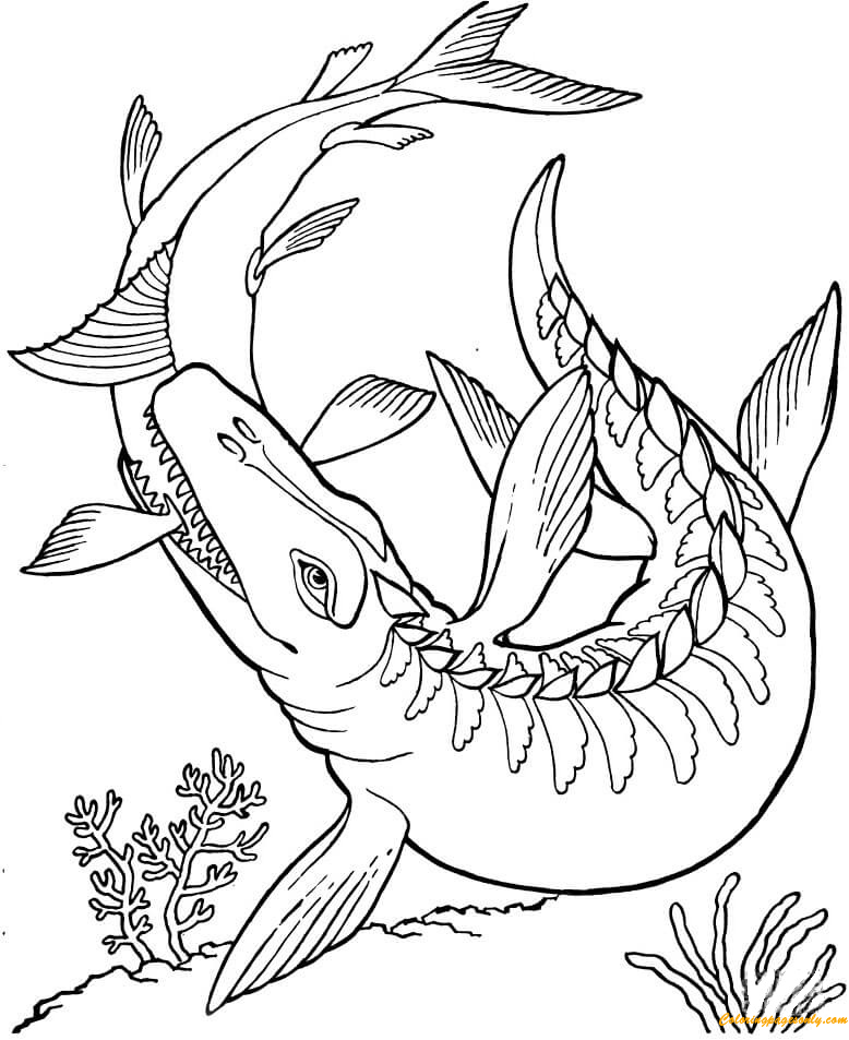 dino colouring pages online mosasaurus dinosaur coloring page free coloring pages online online dino colouring pages