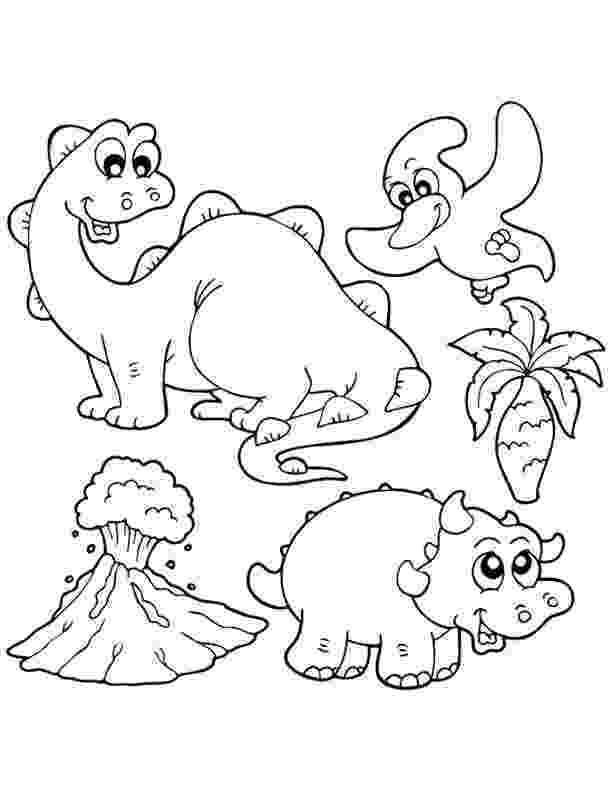dinosaur coloring sheets preschool dinosaur coloring pages for preschoolers 01 colored sheets coloring dinosaur preschool