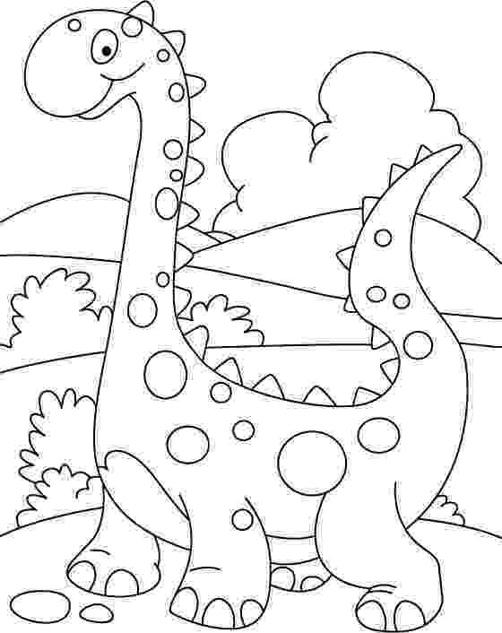 dinosaur coloring sheets preschool walking cute dino coloring printout download free dinosaur sheets preschool coloring