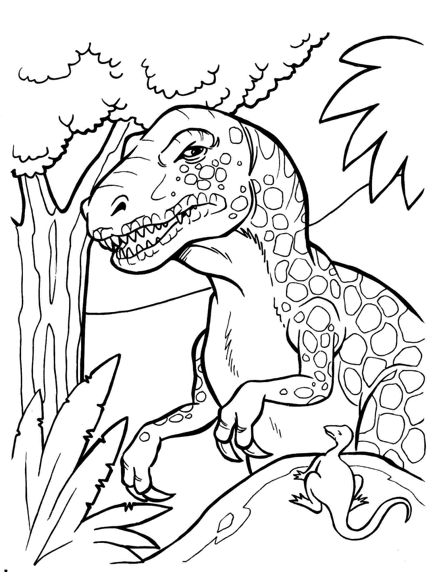 dinosaur colouring page lets coloring book prehistoric jurassic world dinosaurs dinosaur page colouring